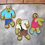 Fred UNDEAD FRED Zombie Cookie Cutters, Set of 3