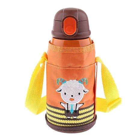 B Blesiya Botella Térmica de Acero Inoxidable para Niños 630 ...