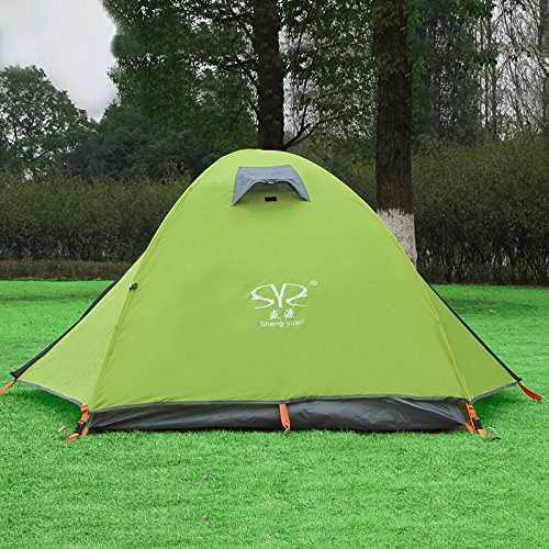 KD Outdoor Super Light Doppel-Aluminium-Pole-Zelt 2 Personen Professionelle Wind-Und Regen Prävention Camping Camping Zelt