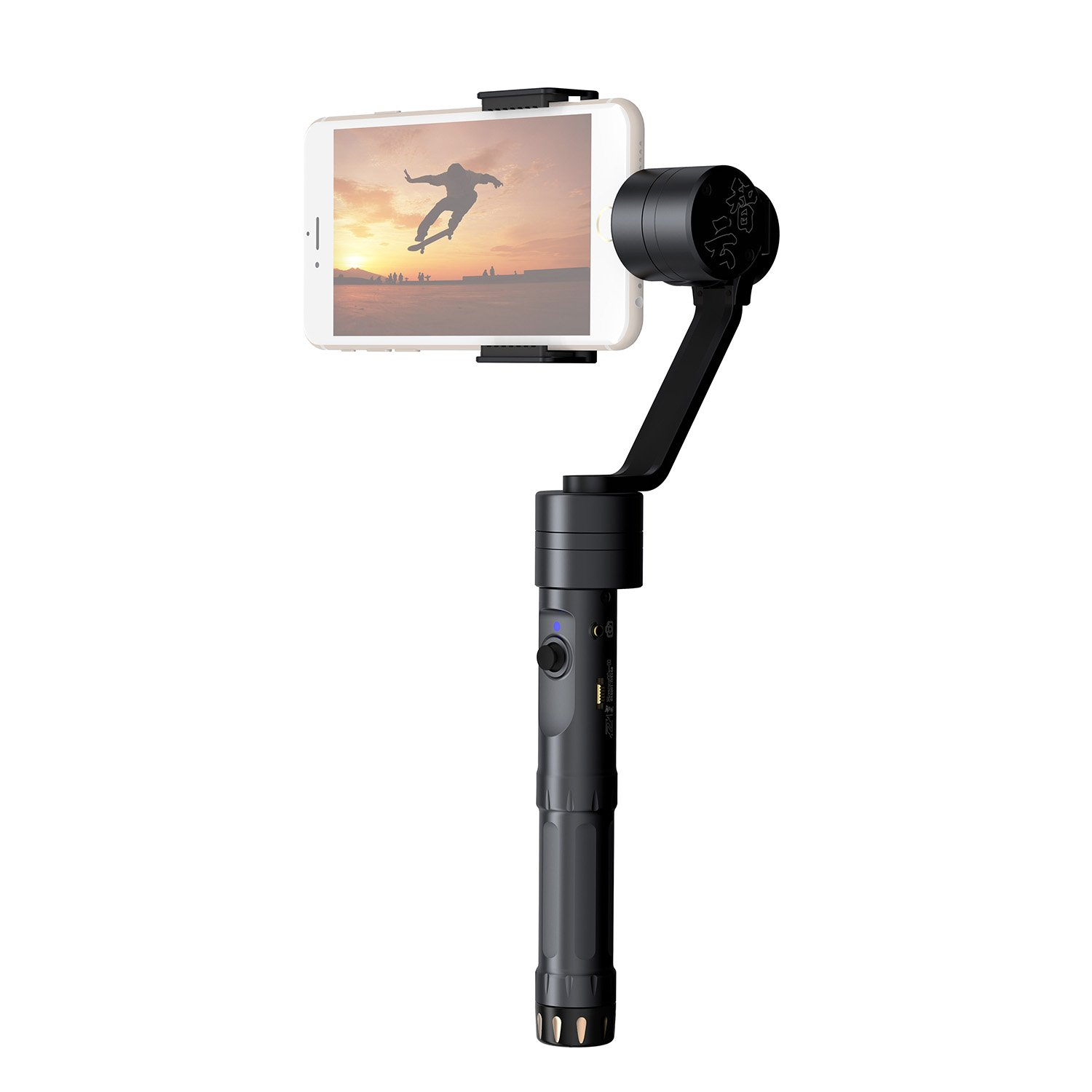 Zhiyun - Z1-Smooth-II 2 3 Axis Brushless Handheld Camera Gimbal Stabilizer APP Bluetooth Control Camera Focus Function for Smartphone Apple iPhone Samsung Galaxy S7 S6 edge IOS Android