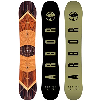Amazon.com : Arbor Wasteland Snowboard - 157cm Mid-Wide : Sports ...