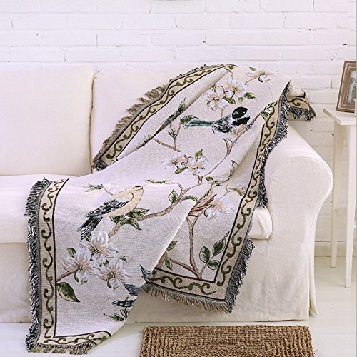 Double Blanket Featuring Decorative Tassels product image