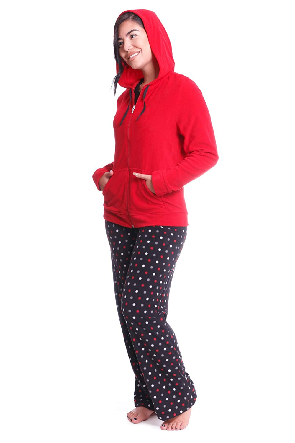 Jasmine Rose Women's Micropolar Fleece 3 Pieces Set