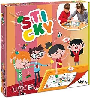 Cayro - Sticky - Desarrollo de Habilidades cognitivas - Juego Infantil - Juego de Mesa (336): Amazon.es: Juguetes y juegos