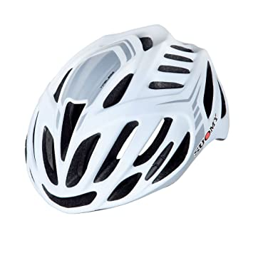 SUOMY Casco Bicicleta Timeless blanco mate/Silver Talla L (Cascos MTB y carretera)