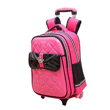 Resistente al agua mochila mochilas escolares con ruedas equipaje de mano Viaje Senderismo hombro bolsas para