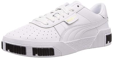 11ed48c059 Amazon.com | PUMA Cali Bold Womens White Sneakers | Fashion Sneakers