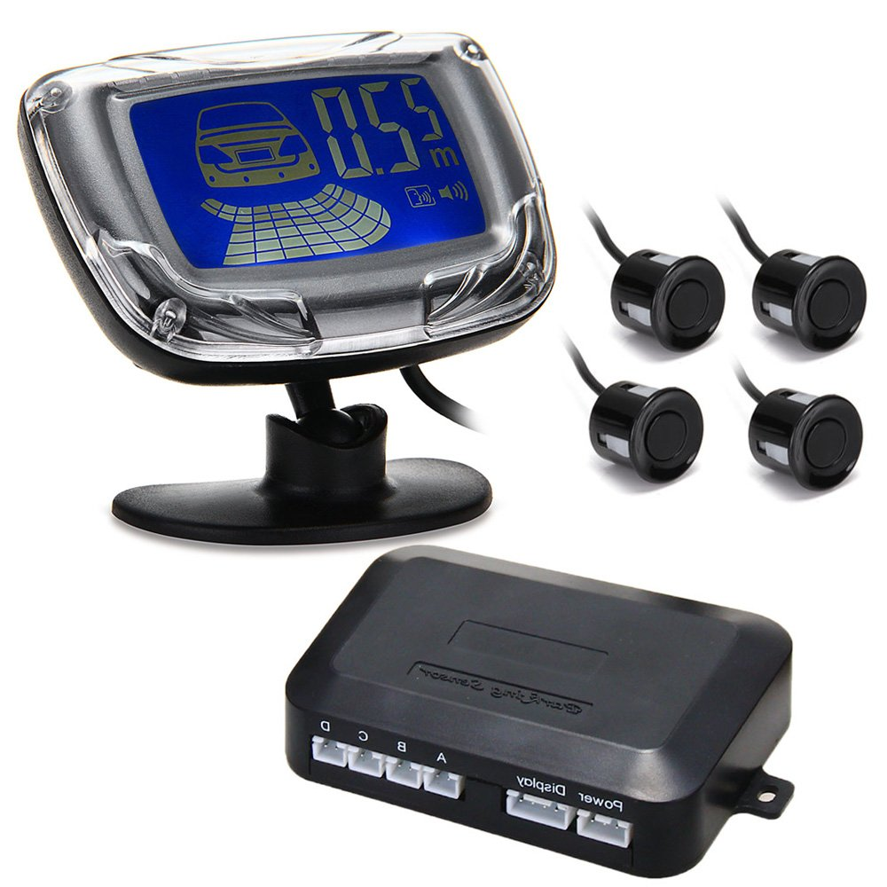 CARCHET® Sensor Radar Aparcamiento Pantalla Luz LCD 2.1