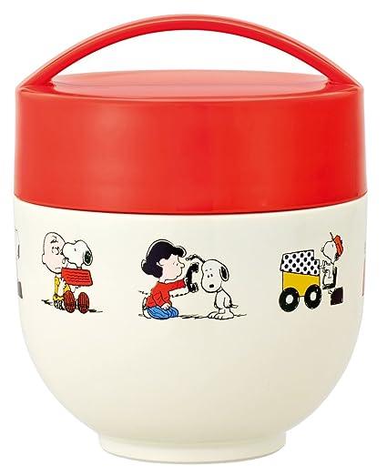 27e06984ba41 Skater Heat insulation Keeping cool Bowl Lunch jar 540ml SNOOPY 15 ...