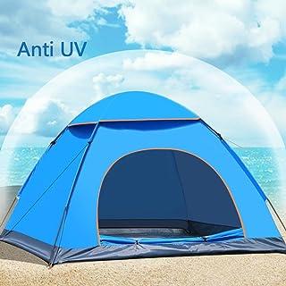 Tenda impermeabile 3–4persona Instant pop up tenda da campeggio, escursionismo, pesca della tenda (blu) PlatiniumTech
