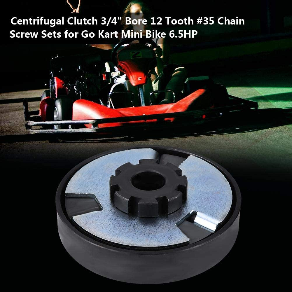 3 4 Fliehkraftkupplung 12 Zahn 35 Kettenschraubensätze Für Go Kart Mini Bike Auto