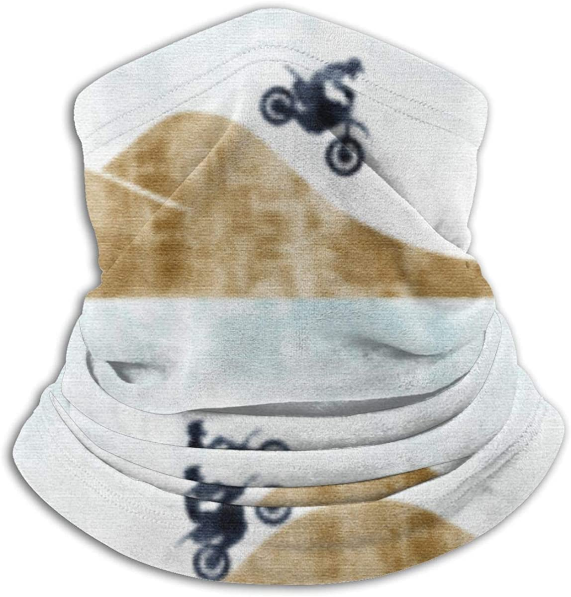 Motocross Dirt Bike Neck Warmer Gaiter For Men Women Headband Face Mask Bandana Head Wrap Scarf Headwear Winter Balaclava For Ski Running Motorcycle