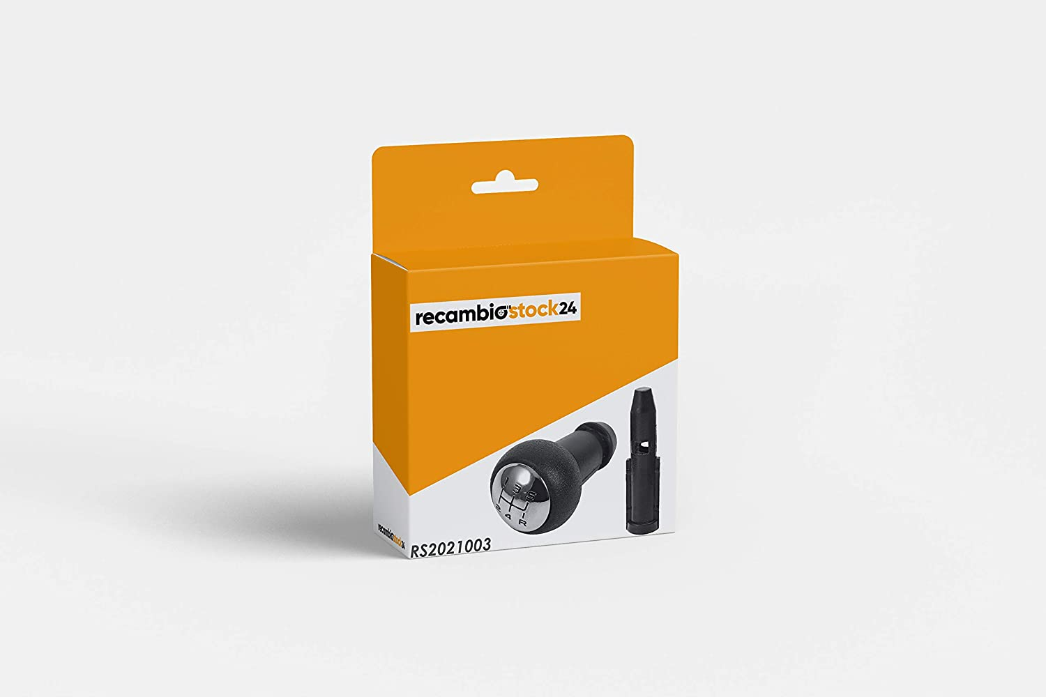 RS24 - RecambioStock24 Pomo palanca de Cambios con Adaptador para Fácil instalación para Citroen/Peugeot