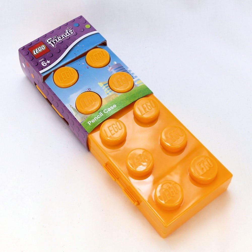 LEGO Friends Lego ladrillo estuche – amarillo: Amazon.es: Oficina y papelería