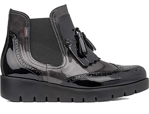 CALLAGHAN Mujer Haman 89834 Sup Soft Lac Black Argent botines Negro Size   38  Amazon.es  Zapatos y complementos 76323454a709