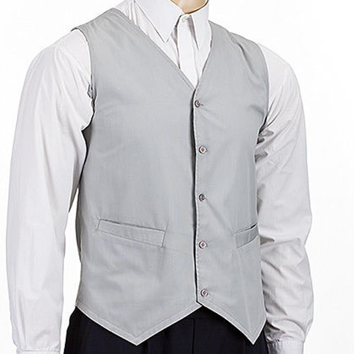 Hospitality Waistcoat Perfect Waiter Waitress Bar Restaurant Staff