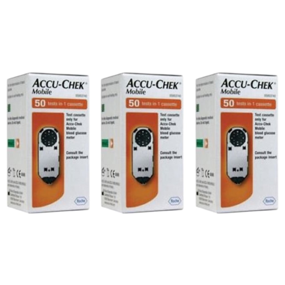 Accu Chek Mobile Test Cassette 1x50 (3 Packs)