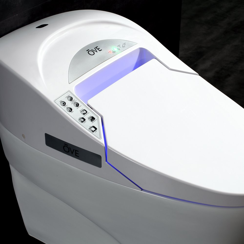 Ove Decors SMART TOILET Single Flush System and Heated Seat with ...