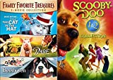DVD : Scooby-Doo 1 & 2 Collection + Cat in the Hat & Beethoven + Babe DVD Family Movie favorites Monsters Unleashed Animal Kids Fun