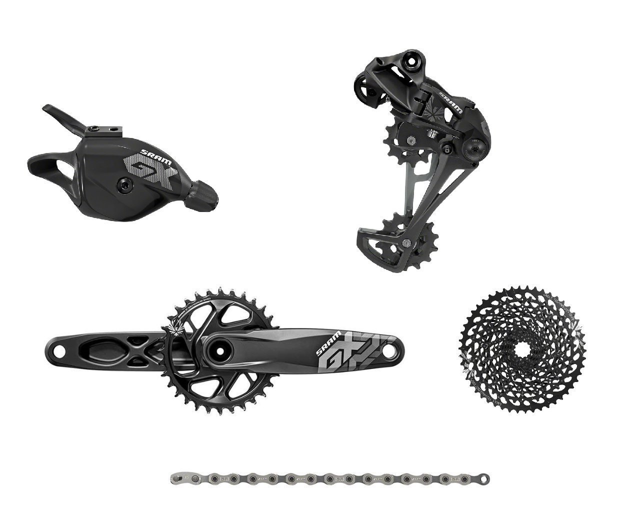 SRAM Eagle GX GXP 175mm Complete Groupset