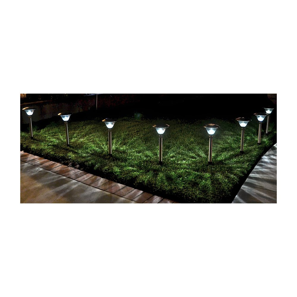Homebrite Solar 30836/8 Power Sierra Path Exterior Lighting