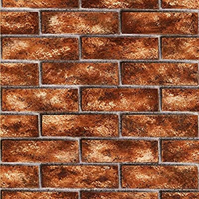Brewster Urbania Brick Texture Wallpaper