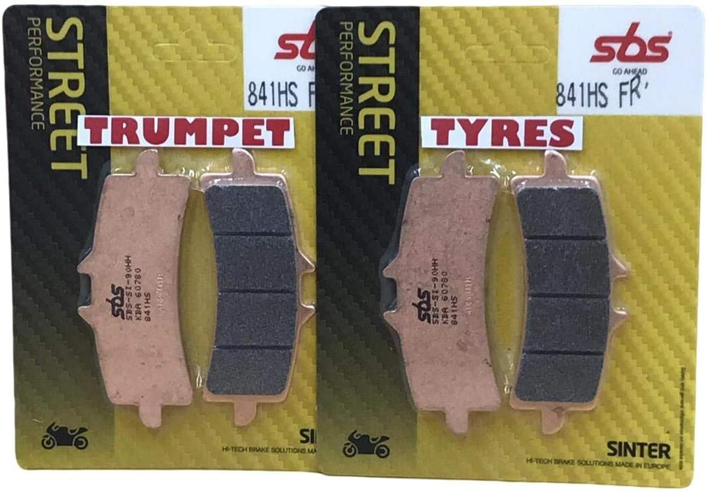 Ducati Panigale 1000 V4 2018-2019 Front SBS Performance Fast Road Sinter Sintered Brake Pads Set OE Quality 841HS