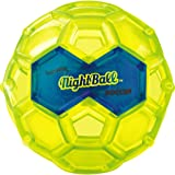 Tangle NightBall Glow in the Dark Light Up LED Soccer Ball - Large (Green with Blue)