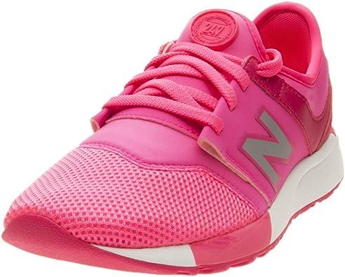 New Balance KL247O4G - Zapatillas de Material Sintético para niña Rosa Rosa Rosa Size: 38 EU: Amazon.es: Zapatos y complementos