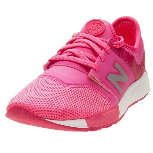New Balance KL247O4G - Zapatillas de Material Sintético para Niña Rosa Rosa: Amazon.es: Zapatos y complementos