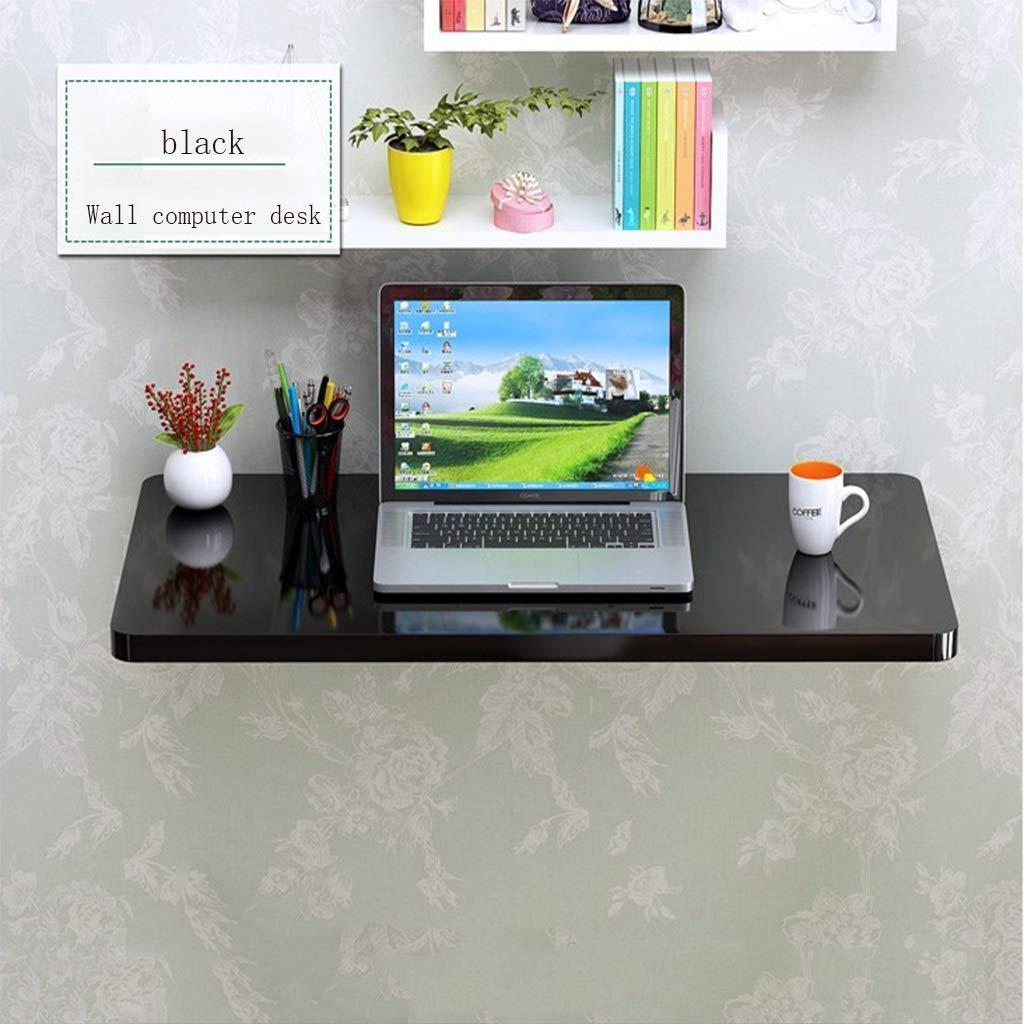 HQCC Tavolo da Parete, Tavolo Pieghevole, Tavolo da Parete, Tavolo da Computer Pieghevole da Parete, scrivania da Muro (80  40cm) (colore   Bianca, Dimensioni   90  40cm)