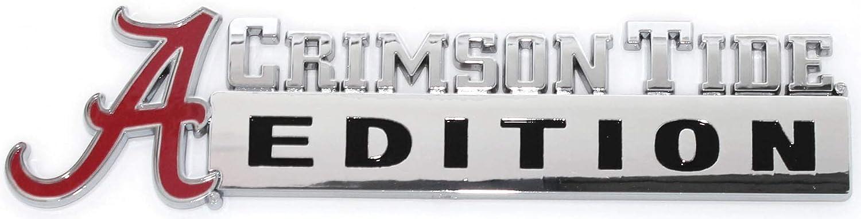 NCAA Collegiate Edition ABS Molded Chrome Auto Emblem Alabama