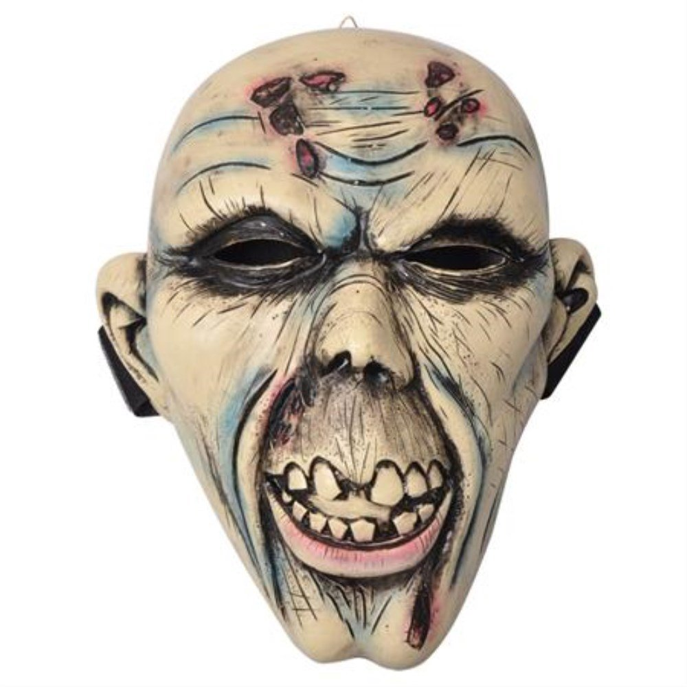 Rotting Undead Zombie Corpse Costume Cosplay Face Mask