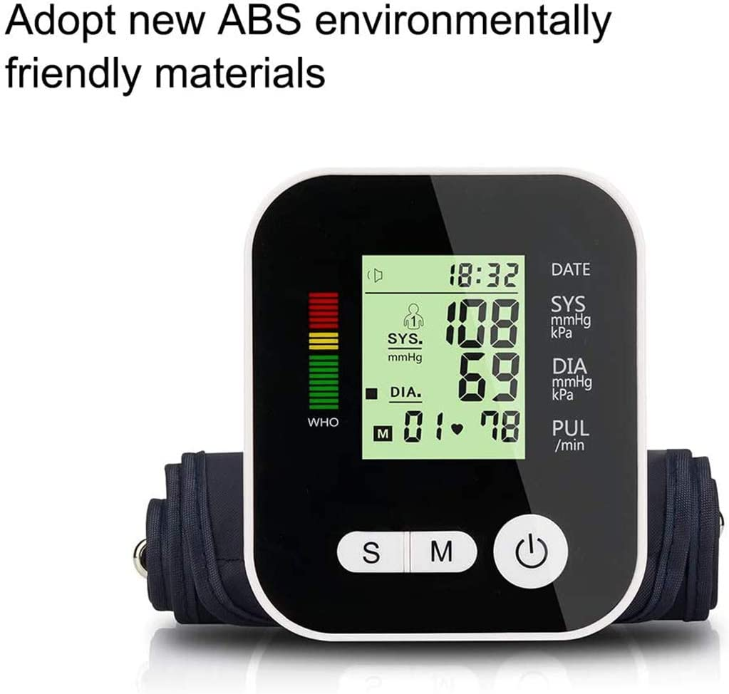 2 X 99 Memories YUEBAOBEI Automatic Wrist Blood Pressure Monitor ...