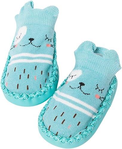 Baby Girl Boy Anti-slip Shoes Boots Cartoon Newborn Kids Toddler Slipper Socks
