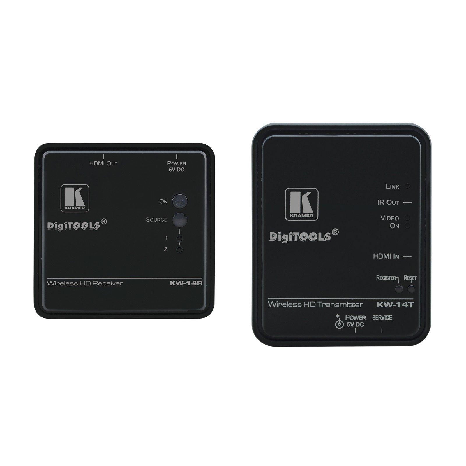 Kramer KW-14 | Expandable Wireless HDMI Video Transmitter Receiver by Kramer