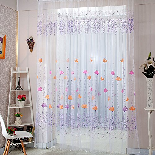 norbi-fresh-floral-print-tulle-voile-door-window-rom-curtain-drape-panel-sheer-scarf-valances-purple