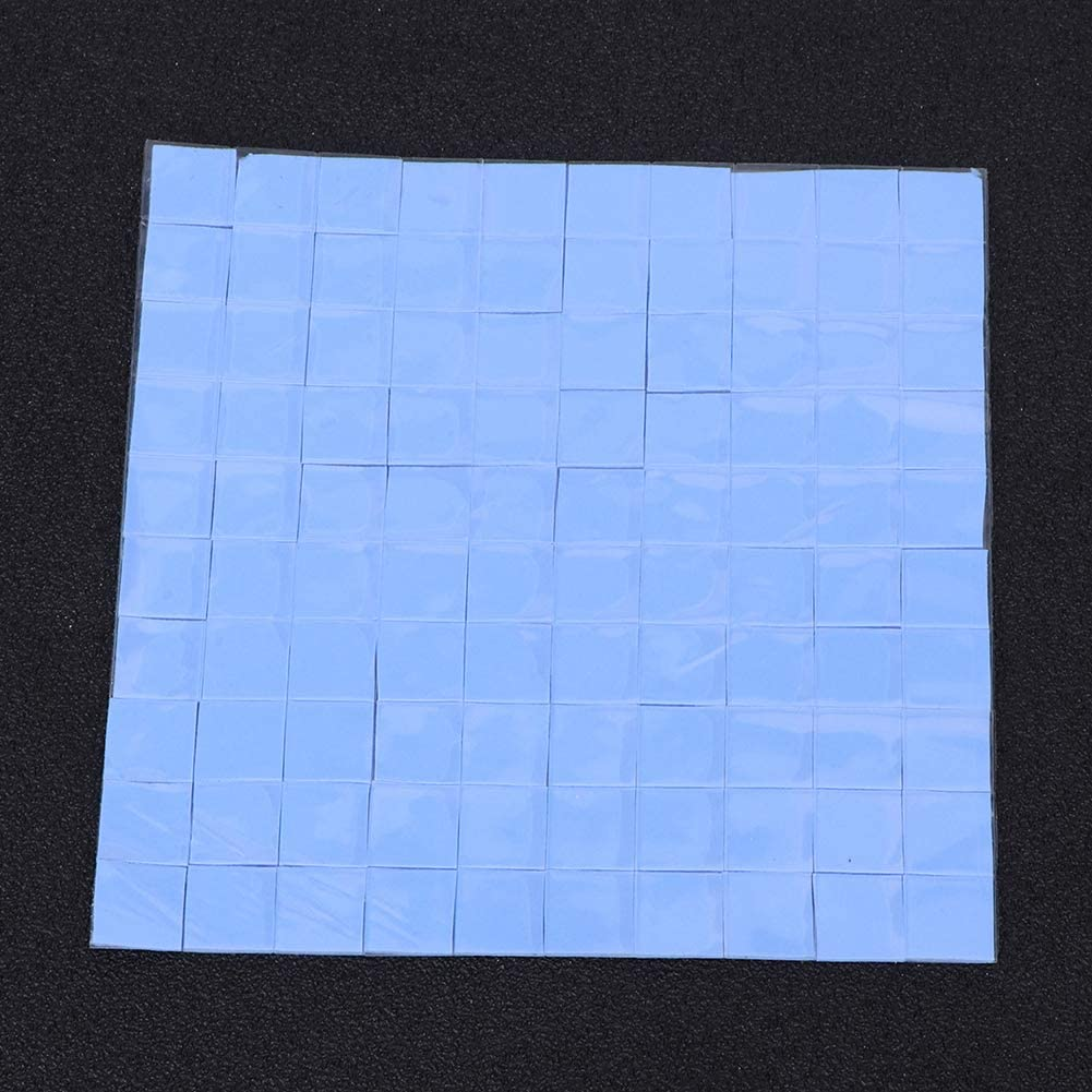 Small Size Long Service Life CPU Thermal Pads Cooling Conductive Pads Durable Silicone Strong for CPU Chip Heat Conduction LED Heat Conduction