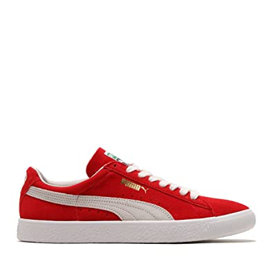 Puma Chaussures Loafer Couleur Rouge RedWhite Taille 41.5