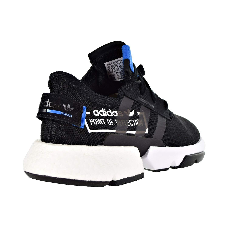 c8beafdba4a42 adidas Mens POD-S3.1 Black/Black/Bluebird - CG6884