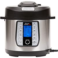 Power Quick Pot 37 -in-1 Multi- Use Programmable Pressure Cooker, Slow Cooker, Rice Cooker, Yogurt Maker, Cake Maker, Egg Cooker, Baking, Sauté/Sear, Steamer, Hot Pot, Sous Vide and Warmer