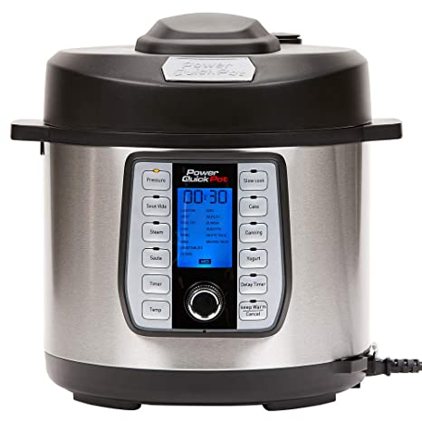 Amazon.com: Power Quick Pot 37 - Olla a presión programable ...