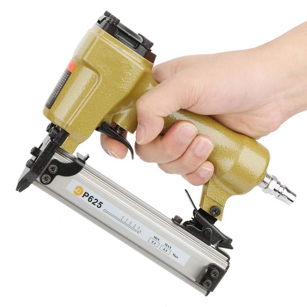 Grapadora neum/ática P625 para pistola de aire para enmarcar clavos de aire comprimido para clavos para cereales 100 unidades longitud 10-25 mm