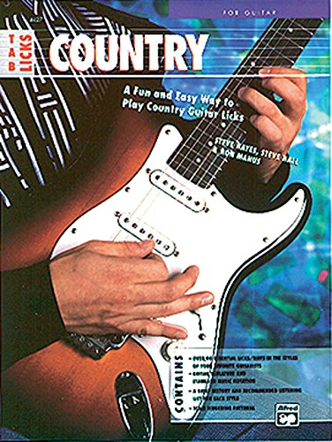Country TAB Licks: A Fun and Easy Way to Play Country Guitar Licks