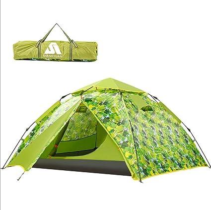 WOHAO La Tienda del Invernadero Camping al Aire Libre Carpa 3 ...