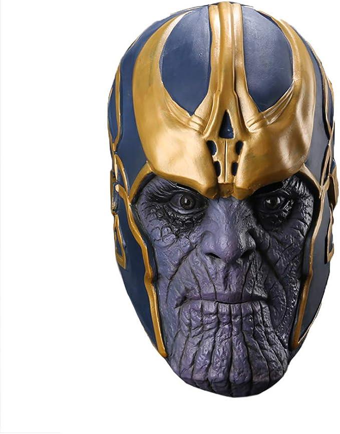 máscara para disfraz de thanos hombre