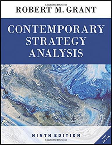 Contemporary Strategy Analysis Ebook