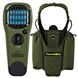Thermacell Mosquito Repellent Outdoor and Camping Repeller Device & MR-HJ Repeller Holster, Olive