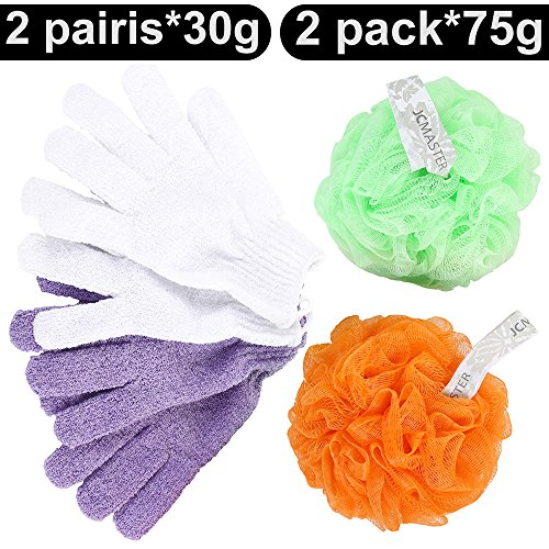 JCMASTER Gloves Exforliating Scrubber Friends product image