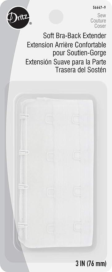 bra extender 3 hook 51mm In White
